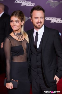 aaron paul in U.S. Premiere Of Dreamworks Pictures