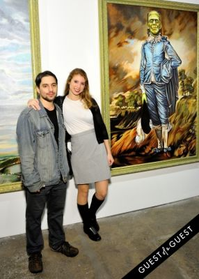 lauren pazienza in Joseph Gross Gallery: From Here & Monstro Eyegasmica Exhibition Opening