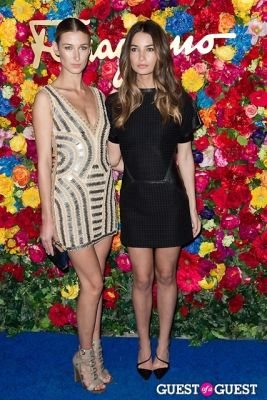 lily aldridge in Ferragamo Celebrates The Launch of L'Icona
