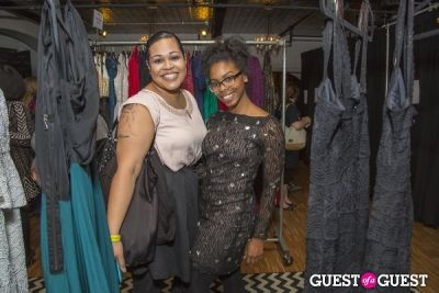 bianca perez in Rent The Runway LivingSocial Pop-Up
