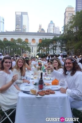 lauren shepherd in Diner en Blanc NYC 2013