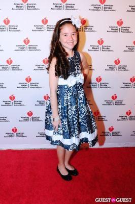 lauren shields in American Heart Association 2012 NYC Heart Ball