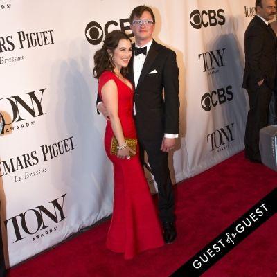 lauren worsham in The Tony Awards 2014