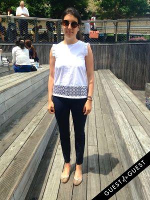 laurene millet in Summer 2014 NYC Street Style
