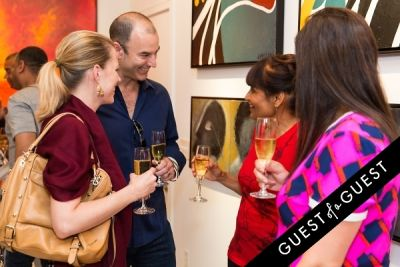 lawrence gleason in P Street Gallerie Opening