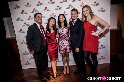 sally wong in American Heart Association Young Professionals Red Ball