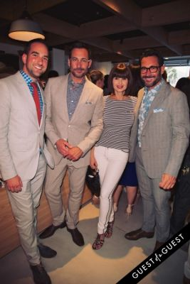 carrie genzel in Bonobos Guideshop LA Opening