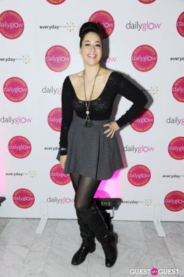 leavra luciano in Daily Glow presents Beauty Night Out: Celebrating the Beauty Innovators of 2012