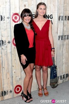 lea michele in FEED USA + Target VIP