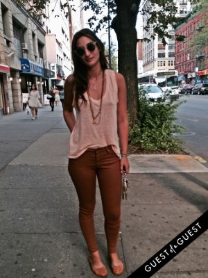 leah bardwil in Summer 2014 NYC Street Style