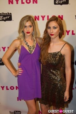 leah clark in NYLON May Young Hollywood Issue Celebration