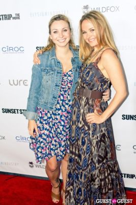 "leah simon-clarke in ""Sunset Strip"" Premiere After Party @ Lure"