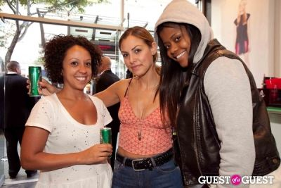 leah workneh in SUPRA Santa Monica Grand Opening Event