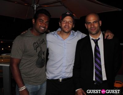 sam kass in Washington Kastles After Party