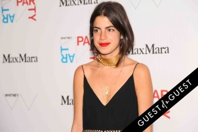 leandra medine in Whitney Art Party 2014