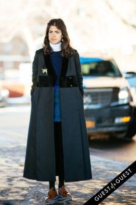 leandra medine in NYFW Street Style Day 6