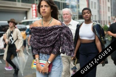 leandra medine in Fashion Week Street Style: Day 1