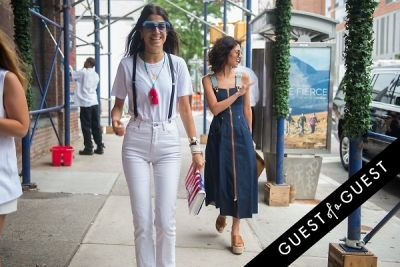 leandra medine in Fashion Week Street Style: Day 3