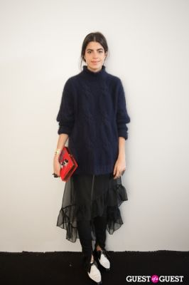 leandra medine in NYC Fashion Week FW 14 Street Style Day 1