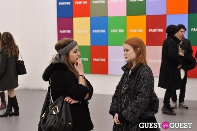 zoe kasten in Allen Grubesic - Concept exhibition opening at Charles Bank Gallery