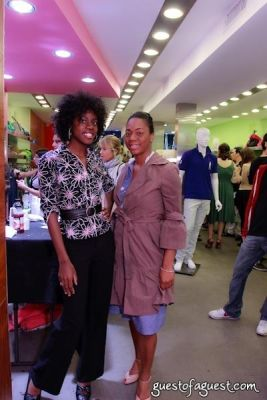 nicole newsum in Sip & Shop for a Cause benefitting Dress for Success