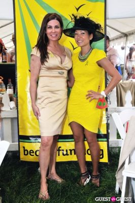 becky lee in Becky's Fund Gold Cup Tent