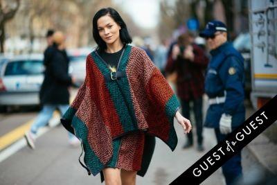 leigh lezark in Milan Fashion Week Pt 1