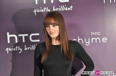 leighton meester in HTC Serves Up NYC Product Launch