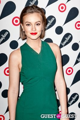 leighton meester in Target and Neiman Marcus Celebrate Their Holiday Collection