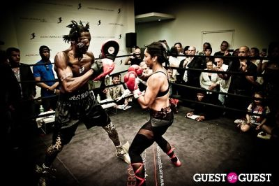 michael olajide in Celebrity Fight4Fitness Event at Aerospace Fitness