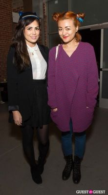 leilani shimoda-and-renee-chen in Cat Art Show Los Angeles Opening Night Party at 101/Exhibit