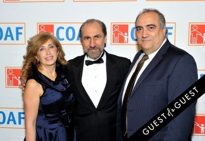 nazaret derkevorkian in COAF 12th Annual Holiday Gala