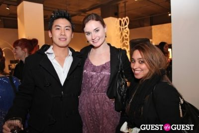 leo lei in Pop Up Event Celebrating Beauty, Art & Fashion
