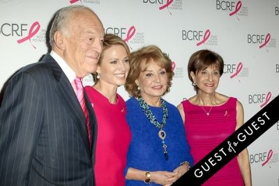 barbara walters-and-myra-biblowit in Breast Cancer Foundation's Symposium & Awards Luncheon