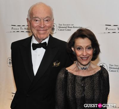 evelyn lauder in The Society of Memorial-Sloan Kettering Cancer Center 4th Annual Spring Ball