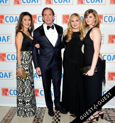 caroline curtis in COAF 12th Annual Holiday Gala