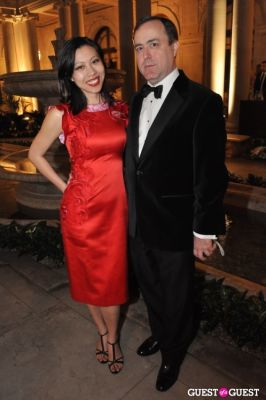 steve ross in Frick Collection Spring Party for Fellows