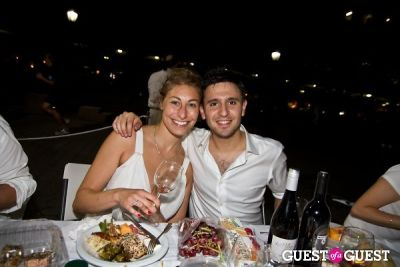 lia strasser in Diner En Blanc's New York Premiere