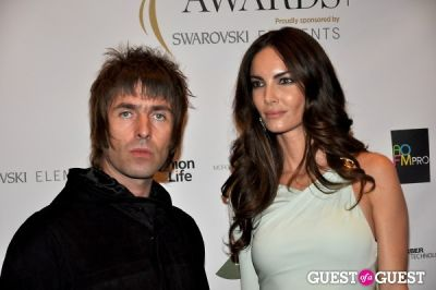 liam gallagher in WGSN Global Fashion Awards.