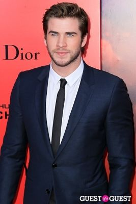 liam hemsworth in The Hunger Games: Catching Fire