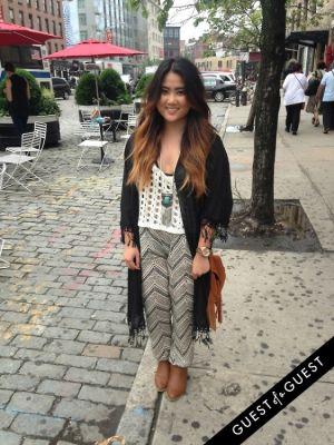 liela chiu in Summer 2014 NYC Street Style