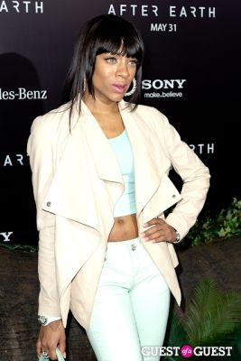 lil mama in After Earth Premiere