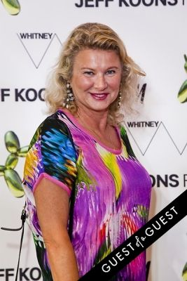 liliana cavendish in Jeff Koons for H&M Launch Party