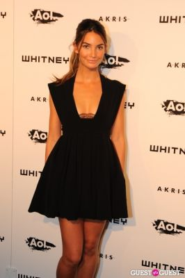 lily aldridge in Whitney Studio Party 2010