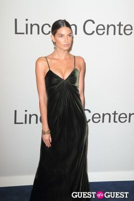 lily aldridge in Oprah Winfrey and Ralph Lauren Gala