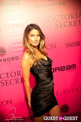 lily aldridge in Victoria's Secret 2011 Fashion Show After Party