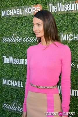 lily aldridge in Michael Kors 2013 Couture Council Awards