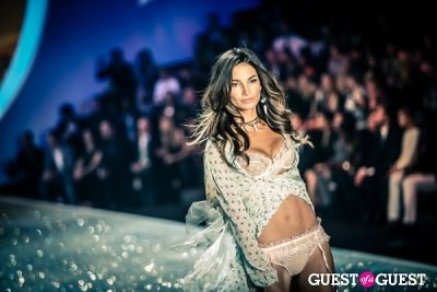 lily aldridge in Victoria's Secret Fashion Show 2013