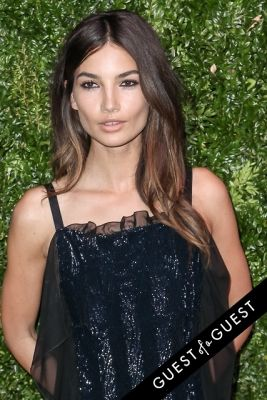 lily aldridge in Chanel's Tribeca Film Festival Artists Dinner