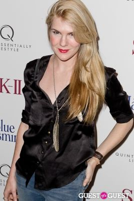 lily rabe in Blue Jasmine Premiere